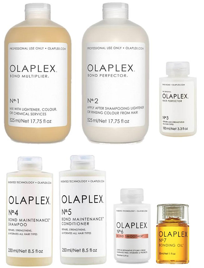 Olaplex Professional Hair Care Products available at Jennifer's Hair Boutique Aurora Hair Salon