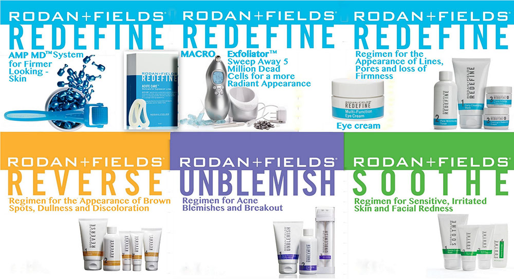 Rodan & Fields Skin Care Products for sale Aurora Ontario Jennifer's Hair Boutique